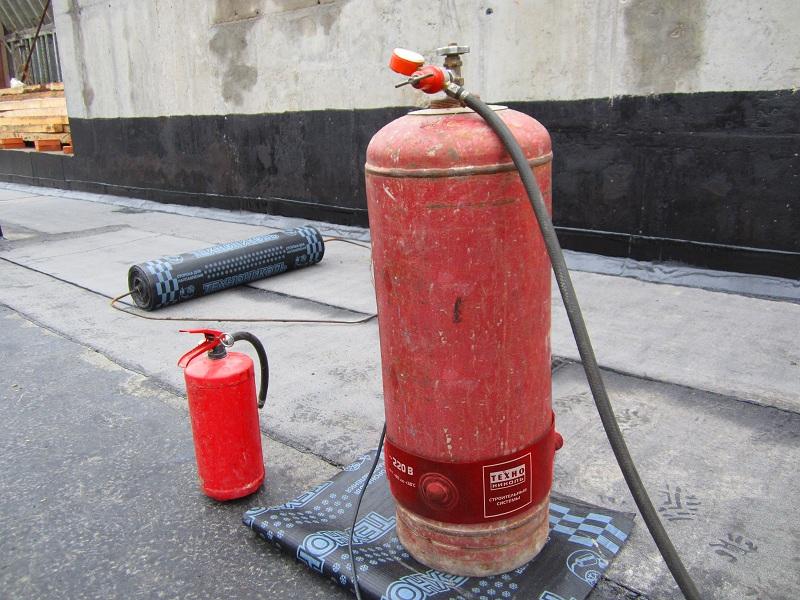 Газовая горелка для ремонта мягкой кровли своими руками